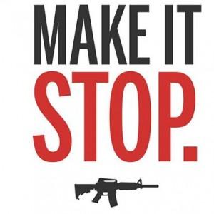 Un alto a la violencia con armas de fuego.