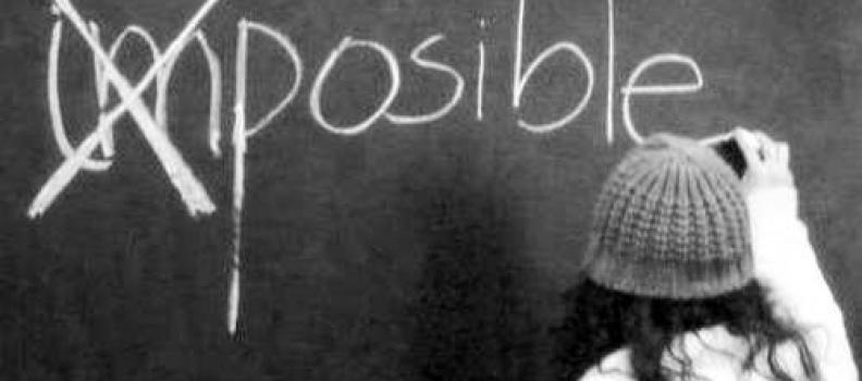 ¿Qué es lo imposible?